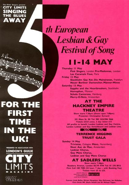 5th European Lesbian & Gay Festival of Song
