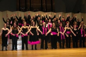 The Pink Singers in concert