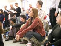 In rehearsal winter 2007