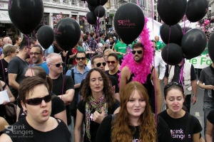 The Pink Singers at Pride London 2011