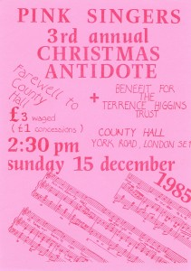 County Hall poster