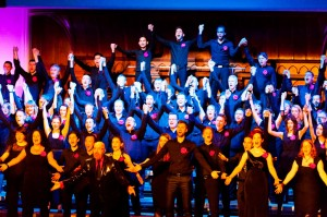 ...and a photograph from the 2013 anniversary concert 'P.S. We're 30!' at Cadogan Hall. LSE/HCA/Pink Singers/047 Boy Oh Boy Photography © Pink Singers