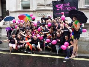 The Pink Singers at Pride 2014