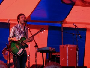Rod Thomas in Avalon Cafe, Glastonbury 2007 (Pic: Simon P)