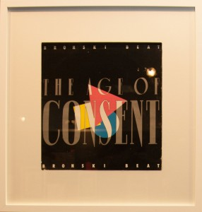 Photograph of the album 'Age of Consent'