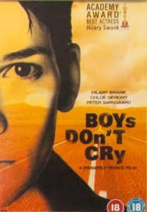Photo of DVD cover of 'Boys Don't Cry'