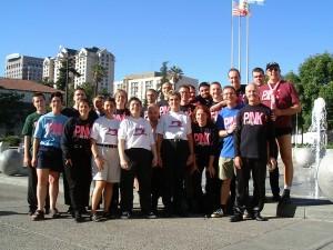 Pink Singers at GALA San Jose 2000