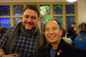 Rob Kielty and Hsien Chew 2015