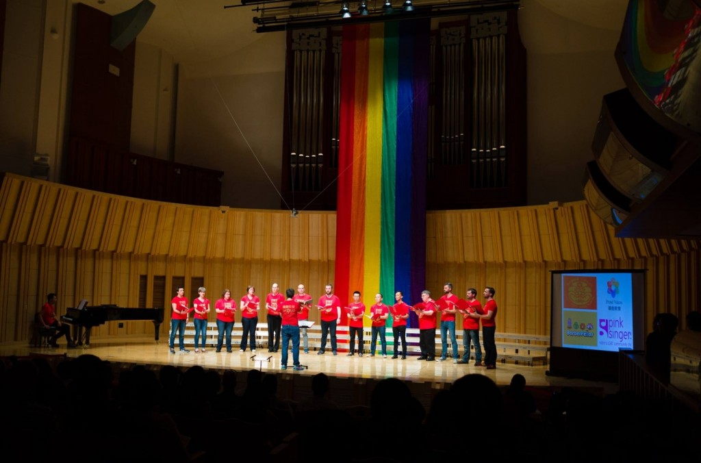 Proud Voices choir (Photo by 터울)