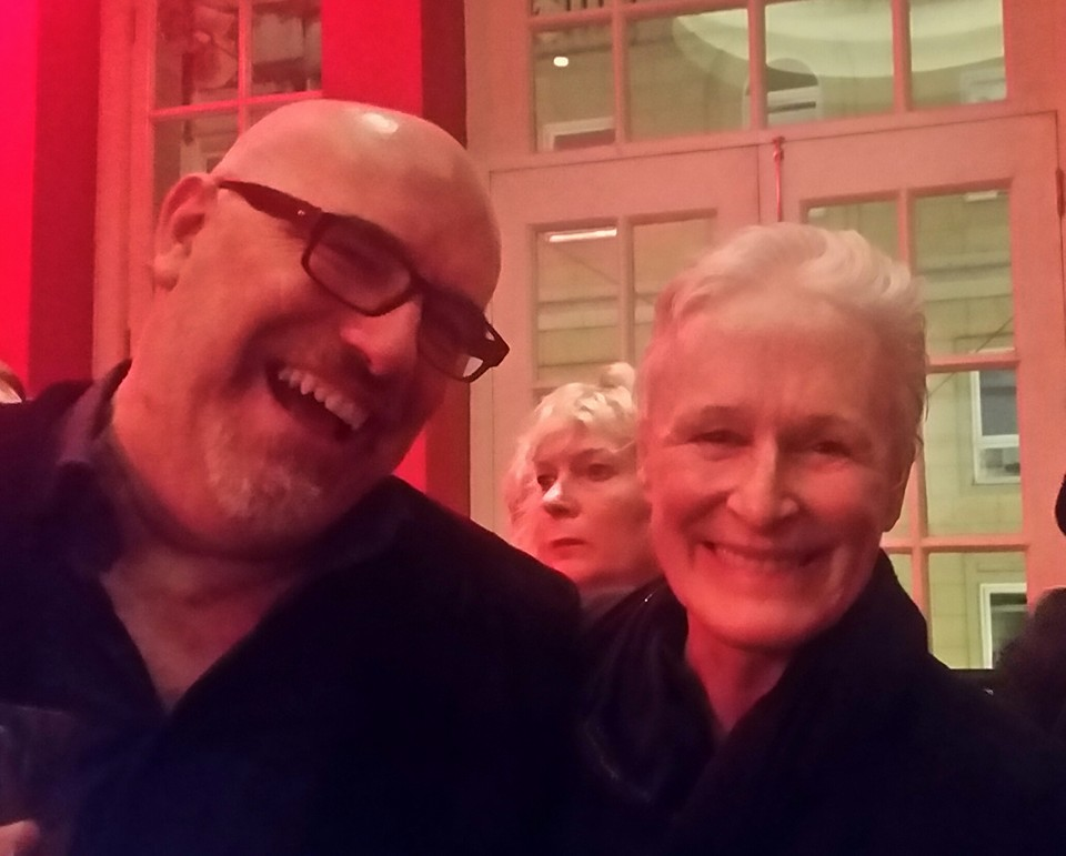 Murray and Glenn Close
