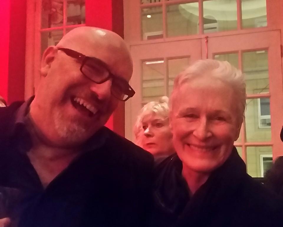 Murray and Glenn Close