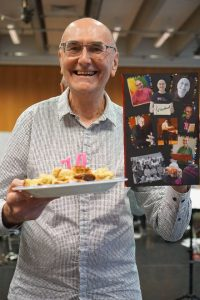As well as celebrating his 30th anniversary with the choir, Michael also turned 70 this year!