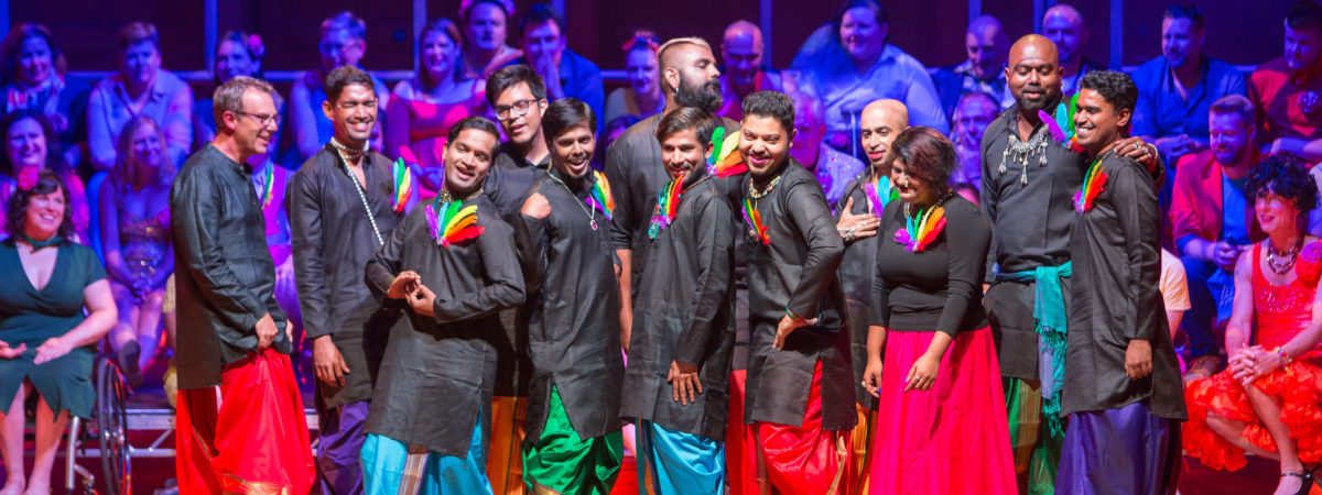 Supporting LGBT rights in India