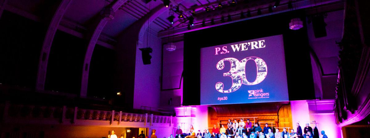 P.S. We're 30 Concert
