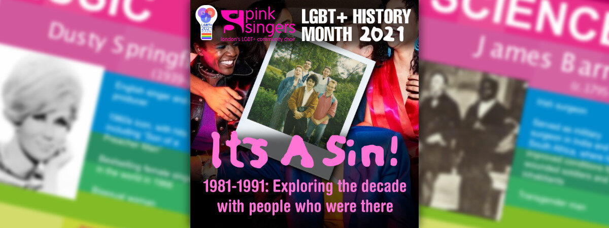 LGBT+ History Month – It's a Sin!