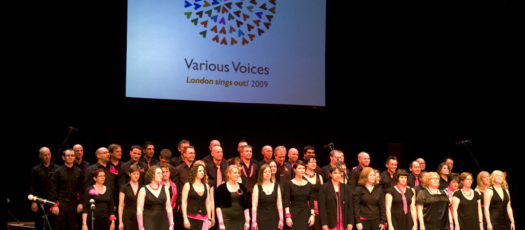 Various Voices 2009 – London sings out!